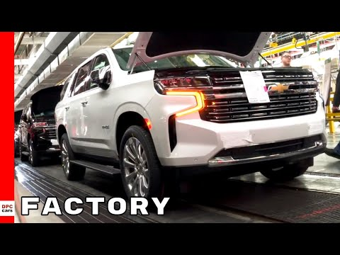 2021 Chevrolet Tahoe and Suburban Factory
