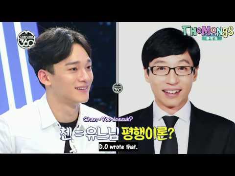 [ENGSUB] Chen is EXO's Yoo Jae Suk @Star Show 360 EXO cut