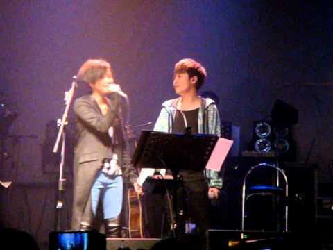 20110629 何韻詩&青峰-出走太平洋+小情歌 in Legacy