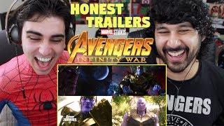 Honest Trailers - AVENGERS: INFINITY WAR - REACTION!!!