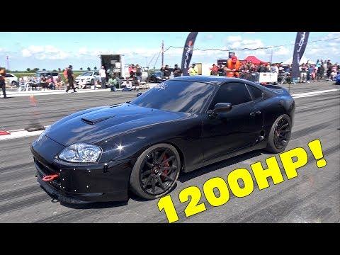 1200HP TOYOTA SUPRA – INSANE ACCELERATIONS!