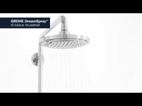 PRODUKT | Grohe Euphoria brusesystem med termostat