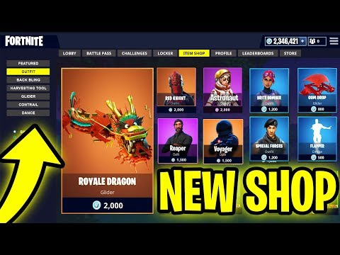 Skin Shop Update New Permanent Rarest Skins Amp Gliders