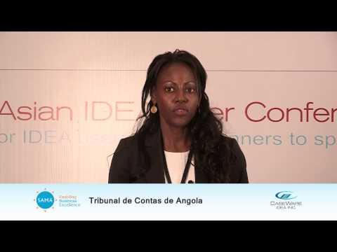 Ms Kamia, Auditor, Tribunal de Contas de Angola