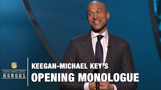 Keegan-Michael Key Roasts the NFL's Elite in his Opening Monologue | 2017 NFL Honors