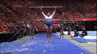 Highlight: UCLA gymnastics' Kyla Ross notches a perfect 10 on bars