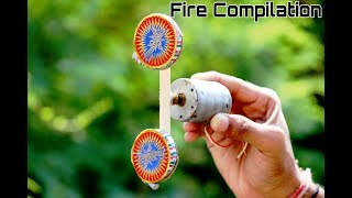 Top 4 Awesome Experiment  Fireworks Compilation this Diwali