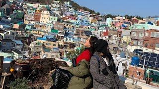 Diệu Nhi   Follow Me - Hàn Quốc Tháng 12/2018_Phần 4_Ngôi Làng Văn Hóa GamChoen Và Spa Land