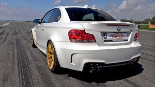 450HP BMW 1M Coupe PP PERFORMANCE 1/2 Mile Accelerations!