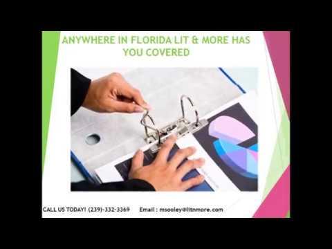 Legal copy Fort Lauderdale - Litigation Services - Expect more - Get More
