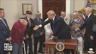 WATCH: President Trump signs National Pearl Harbor Day Remembrance Day proclamation