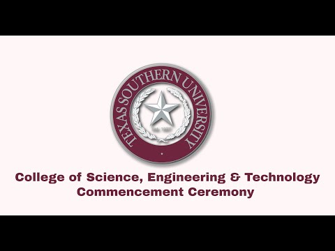 Winter 2020 Commencement  - College of Science, Engineering and Technology