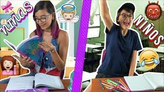 girls vs boys in the school