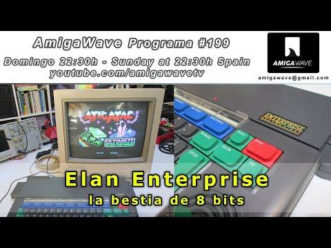 AmigaWave #1989. Elan Enterprise, la bestia oculta de 8 bits, por Gflorez.
