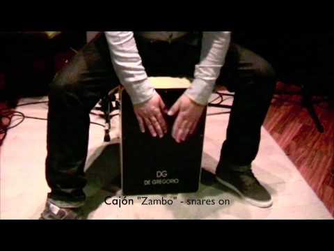 De Gregorio DG De Gregorio Cajon - Zambo Switchable Cajon