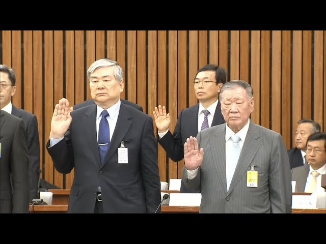 大韓航空會長趙亮鎬 遭起訴貪汙等罪