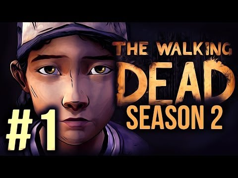 The Walking Dead: Season 2 - Part 1 Gameplay / Playthrough - CLEMENTINE IS BACK! - Smashpipe Games