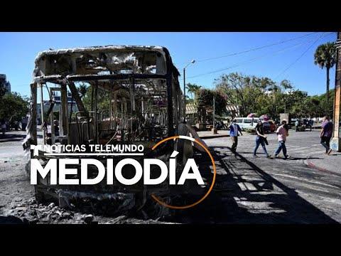 Siguen las protestas violentas en Guatemala | Noticias Telemundo