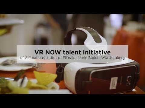 VR NOW talent initiative at FMX 2017