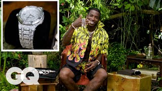 Gucci Mane Shows Off His Insane Jewelry Collection | On the Rocks | GQ