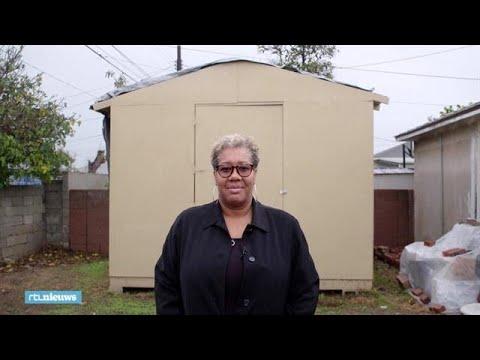 Woningnood VS: verhuur een tuinhuisje aan een dakloze - RTL NIEUWS