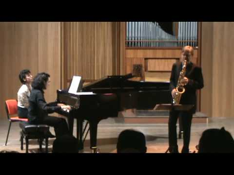 HINDEMITH Sonata for sax and piano - part IV