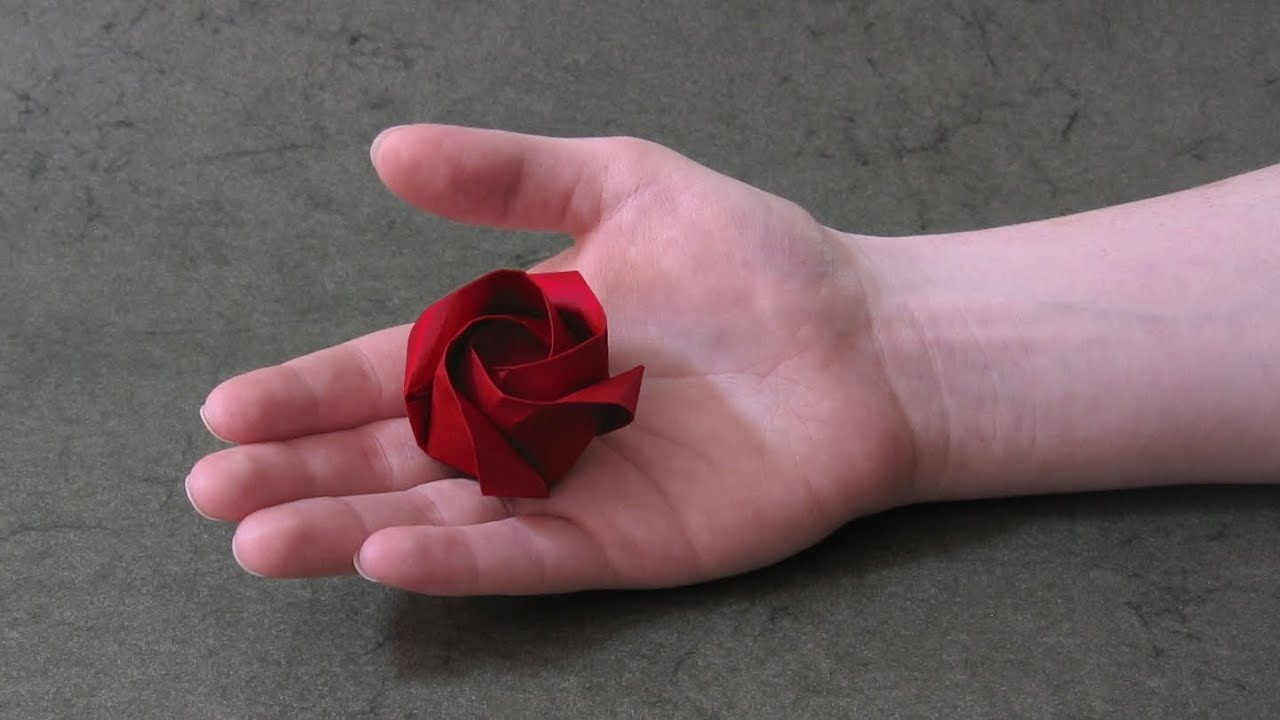 Origami Instructions: Rose of Roses (Jordi Adell) - YouTube - photo#29