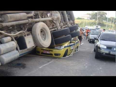 Campanha contra acidentes de trânsito para caminhoneiros