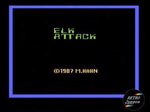 Elk Attack (Atari 2600) - Review de RETROJuegos por Fabio Didone