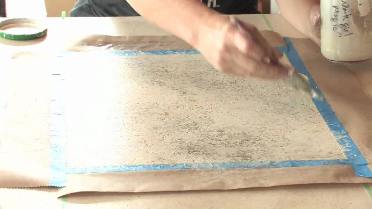 Decorative Painting Techniques How To Faux Paint Granite