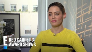 Rose McGowan Clarifies Her Comment on Meryl Streep   E! Live from the Red Carpet