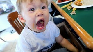 TODDLER CHOKES ON SPICY FOOD!!