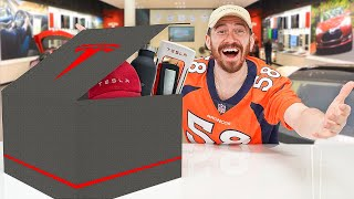 Unboxing A $1,000 Tesla Mystery Box!!