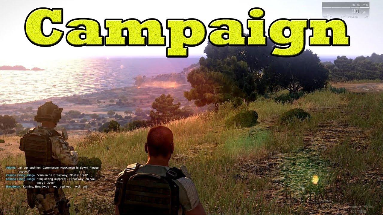 Arma 3 campaign cheats
