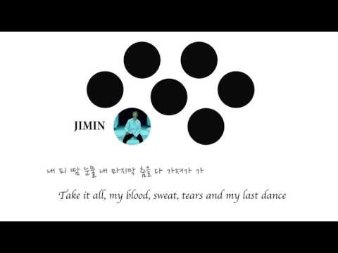 BTS 피땀눈물 (Blood, sweat and tears) Eng Sub