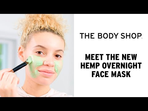 Hemp Overnight Face Mask For Very Dry Skin | The Body Shop