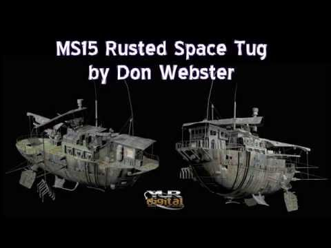 MS15 Rusted Space Tug Promotional Video
