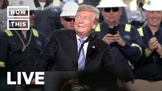 Trump Speaks at Natural Gas Plant in Louisiana | NowThis