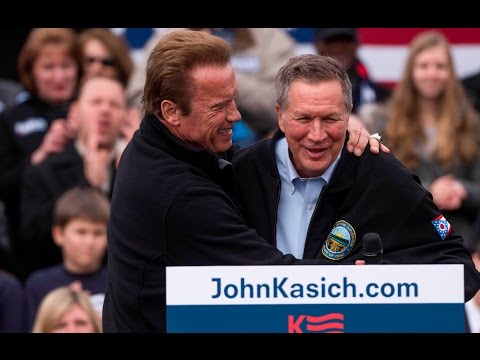 Kasich responds to Arnold Schwarzenegger's endorsement of a possible 2020 presidential campaign