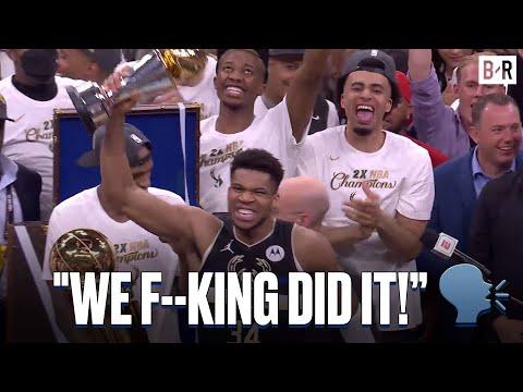 Giannis Is Named 2021 NBA Finals MVP
