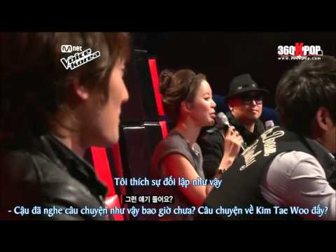 The voice of Korea - Blind Auditions Jang jae Ho