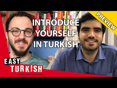 How to introduce yourself in Turkish (PREVIEW) | Super Easy Turkish 9 photo