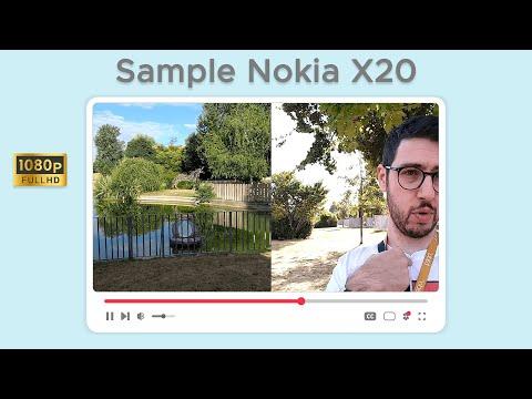 Test di ripresa da Nokia X20 in Full HD