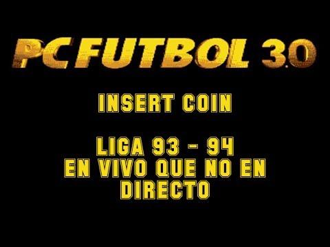 PC Fútbol 3.0 (1994) - PC - Liga Completa comentada en español