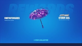 Tier 100 *UNLOCKING* NEW 'STORM SAIL' Glider After Defeating STORM KING (Fortnite Victory WIN)