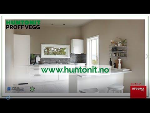 Huntonit Proff Vegg presentasjon v Produktsjef Kjell Torland 1m