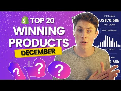 Top 20 WINNING Products For Christmas ( December - Q4) | Shopify Dropshipping 2020