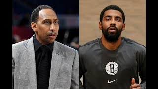 Stephen A. Smith Says Kyrie Irving Should Retire?