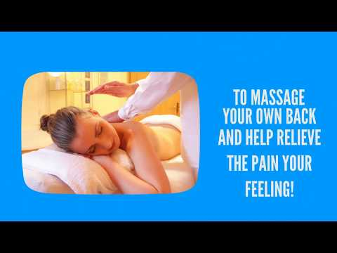 How to give yourself a back massage