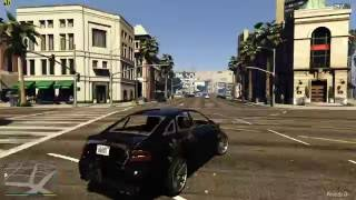 Grand Theft Auto V - Vizio P65-C1 TV 1080/120FPS Test - MSI 980 Ti